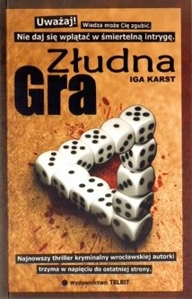 Okładka książki Złudna gra