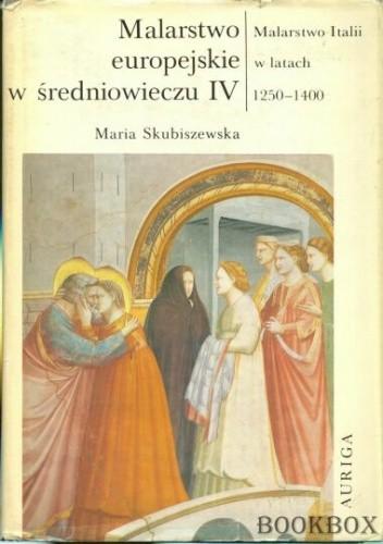 Okładka książki Malarstwo Italii w latach 1250-1400