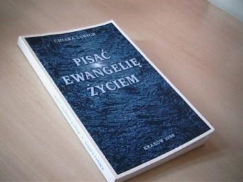 Okładka książki Pisać Ewangelię życiem