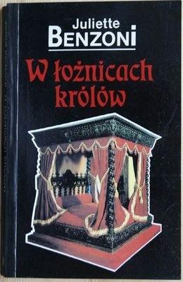 Okładka książki W łożnicach królów