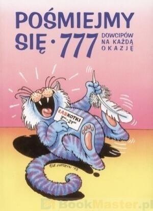 Okładka książki Pośmiejmy się. 777 dowcipów na każdą okazję