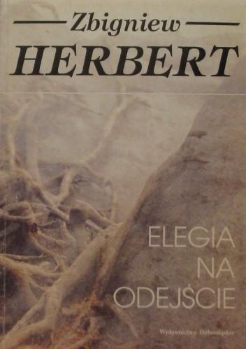 Okładka książki Elegia na odejście
