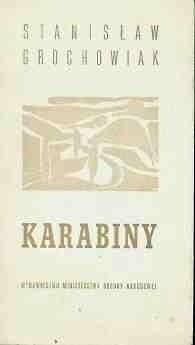 Okładka książki Karabiny