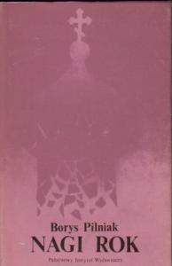 Okładka książki Nagi Rok