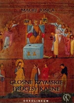 Okładka książki Głośne rzymskie procesy karne