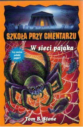 Okładka książki W sieci pająka