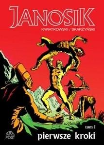 Okładka książki Janosik. Pierwsze kroki