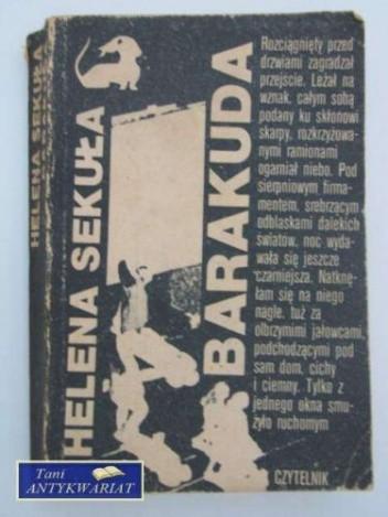 Okładka książki Barakuda