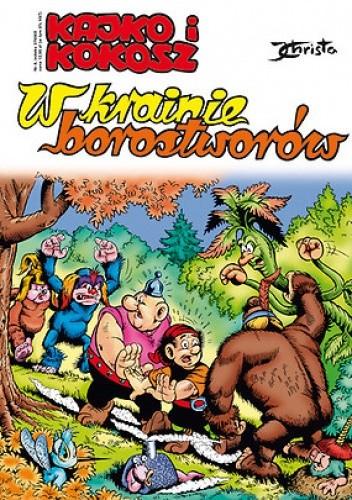 Okładka książki Kajko i Kokosz. W krainie borostworów