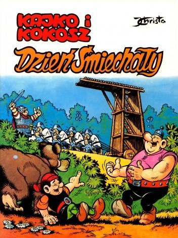 Okładka książki Kajko i Kokosz. Dzień Śmiechały