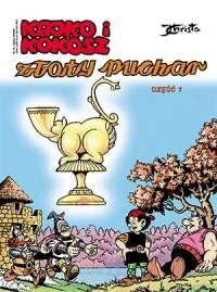 Okładka książki Kajko i Kokosz. Złoty puchar cz. 1