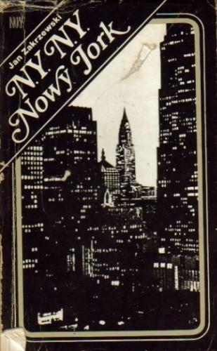 Okładka książki N.Y. N.Y. Nowy Jork
