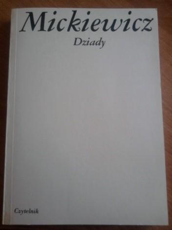 Okładka książki Dziady