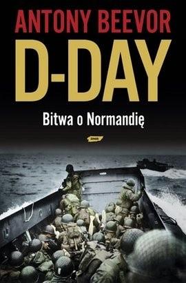 Okładka książki D-Day. Bitwa o Normandię