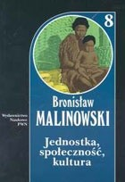 Okładka książki Jednostka, społeczność, kultura