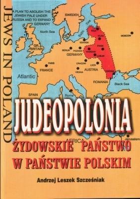 Okładka książki Judeopolonia. Żydowskie państwo w państwie Polskim