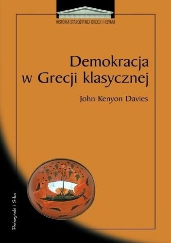 Okładka książki Demokracja w Grecji klasycznej