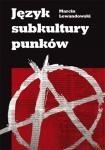 Okładka książki Język subkultury punków