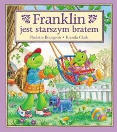 Okładka książki Franklin jest starszym bratem