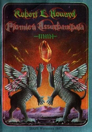 Okładka książki Płomień Assurbanipala