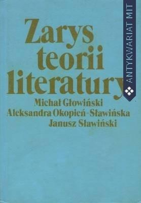 Okładka książki Zarys teorii literatury