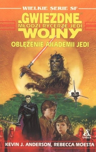 Okładka książki Oblężenie akademii Jedi