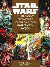 Okładka książki Ilustrowany przewodnik po chronologii Gwiezdnych Wojen