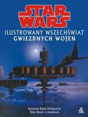 Okładka książki Ilustrowany wszechświat Gwiezdnych Wojen
