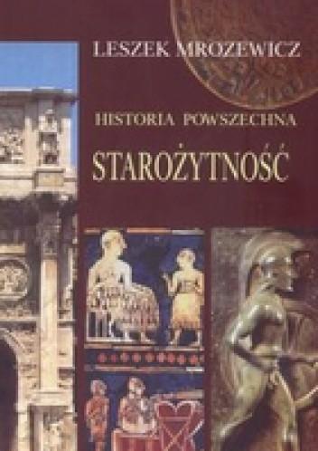 Okładka książki Historia powszechna Starożytność