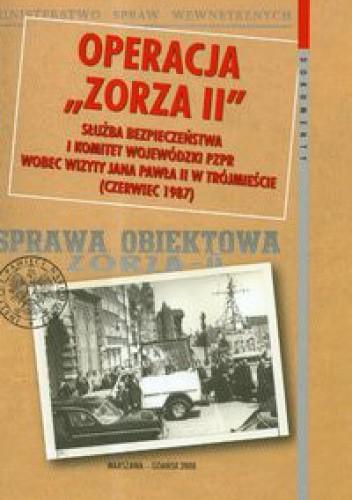 Okładka książki Operacja zorza II