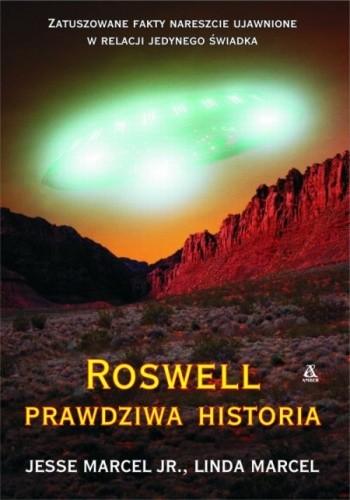 Okładka książki Roswell. Prawdziwa historia