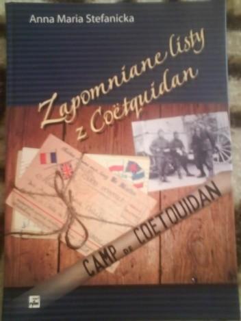 Okładka książki Zapomniane listy z Coetquidan