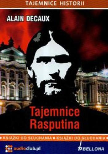 Okładka książki Tajemnice Rasputina. Książka audio
