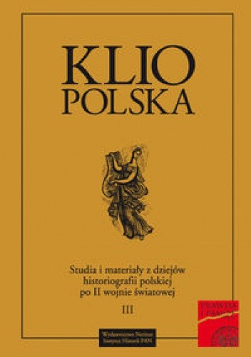 Okładka książki Klio Polska