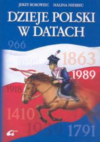 Okładka książki Dzieje Polski w datach