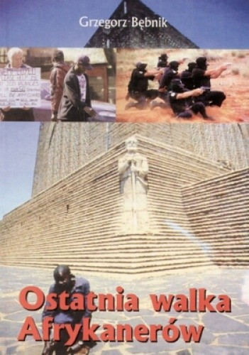 Okładka książki Ostatnia walka Afrykanerów
