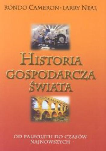 Okładka książki Historia gospodarcza świata