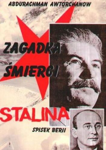 Okładka książki Zagadka śmierci Stalina. Spisek Berii