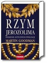 Okładka książki Rzym i Jerozolima. Zderzenie antycznych cywilizacji