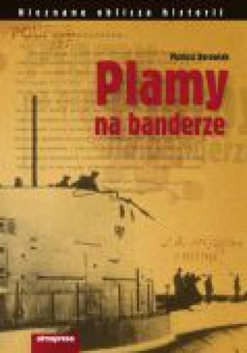 Okładka książki Plamy na banderze