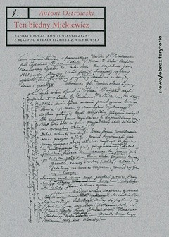 Okładka książki Ten biedny Mickiewicz...