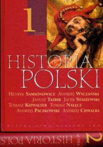 Okładka książki Historia Polski. Tom 1-2
