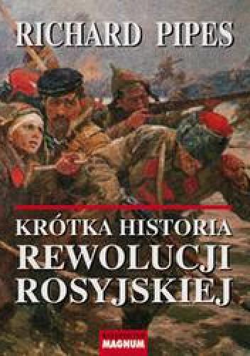 Okładka książki Krótka historia rewolucji rosyjskiej