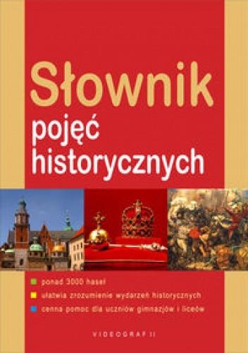 Okładka książki Słownik pojęć historycznych