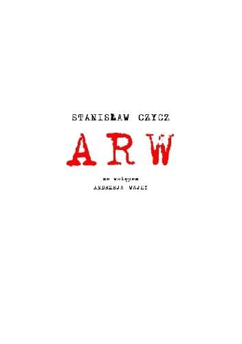Okładka książki ARW