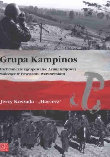 Okładka książki Grupa Kampinos