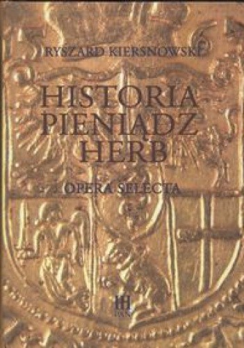 Okładka książki Historia pieniądz herb