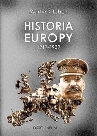 Okładka książki Historia Europy 1919-1939