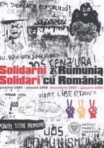Okładka książki Solidarni z Rumunią Solidari cu Romania