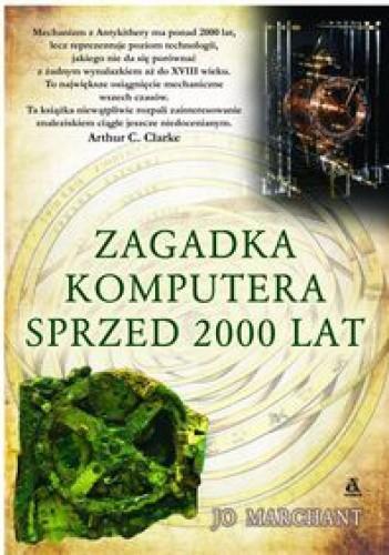 Okładka książki zagadka komputera sprzed 2000 lat